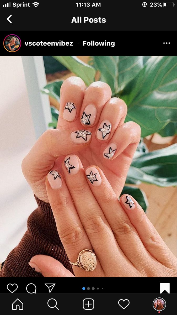 Pin By Jennifer Hickey On Fashion In 2020 Nails Inspiration Gel Nails Star Nails