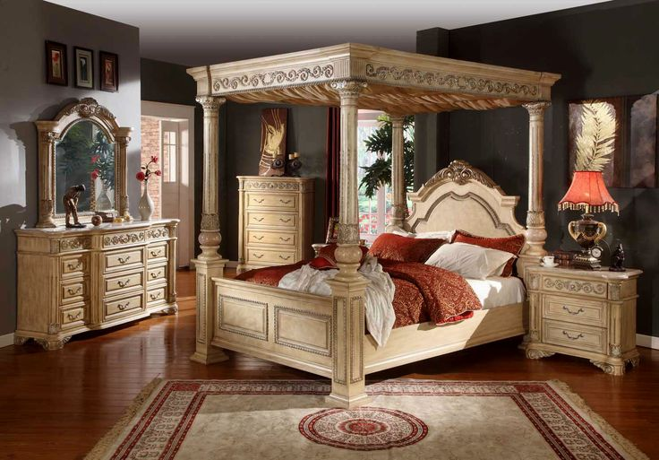 Wood Canopy Bedroom Sets - http://behomedesign.xyz/wood-canopy-bedroom-sets/