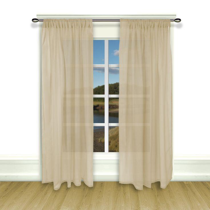 Artisan Sheer Tailored Single Curtain Panel
