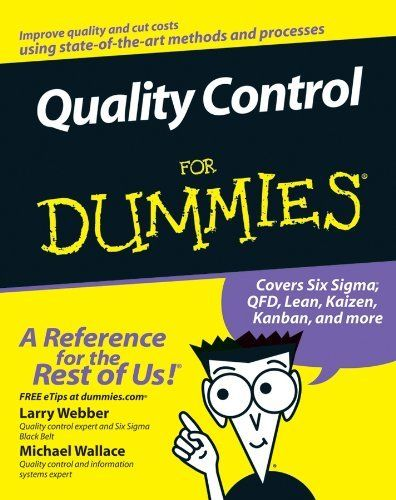 9 best quality books images on pinterest management books and quality control for dummies by michael wallace 1695 author michael wallace publisher fandeluxe Gallery