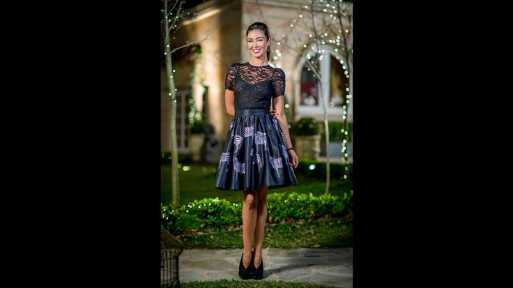 Laurina's top, skirt and shoes are from Pialia Boutique. Her earrings are from Colette   Episode 17