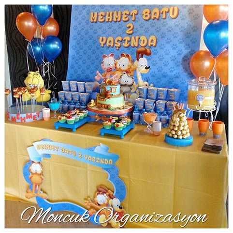 Garfield #happybirtday #garfield #parti #happy #birthday