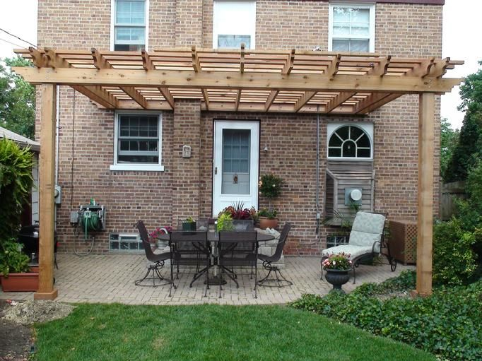 Attached Pergola | Woody Design Inspirations | Pergola, Pergola kits, Attached  pergola - Attached Pergola Woody Design Inspirations Pergola, Pergola Kits