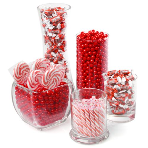 #Red - Candy Kit for Baby Showers $59.99 | #CandyBuffetIdeas | BabyShowerStuff.com