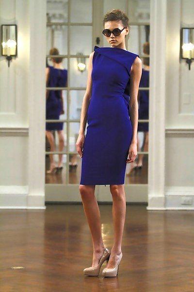 Victoria Beckham Collection 2010  #Cobalt #Love