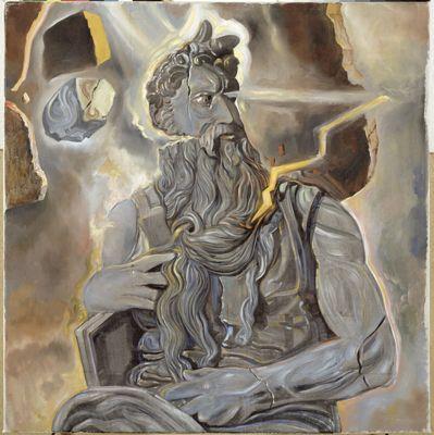 Senza titolo. Mosè dalla tomba di Giulio II di Michelangelo