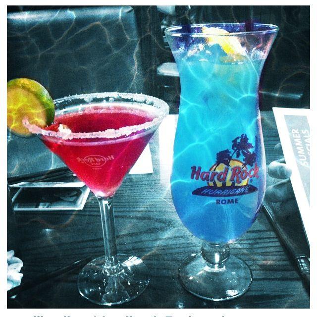 #best #cocktails in #rome #hardrock