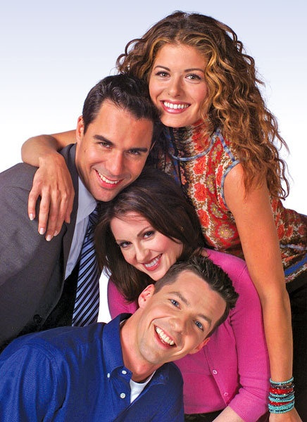 Will & Grace ♥  Eric McCormack as Will Truman, Debra Messing as Grace Adler, Megan Mullally as Karen Walker & Sean Hayes as Jack McFarland :0}
