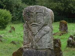 Janus Stone sculpture, Ireland
