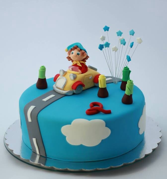 Noddy birthday cake by BioLed