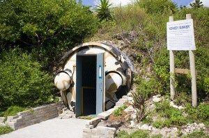 John F. Kennedy bunker in Peanut Island, Palm Beach, Florida