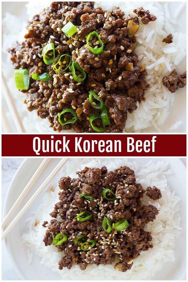 Il manzo e riso coreano è il preferito dalla famiglia che si riunisce in meno di 20 mi …