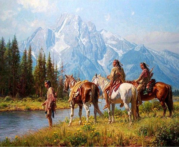 Martin Grelle Western Artist   Martin Grelle Art