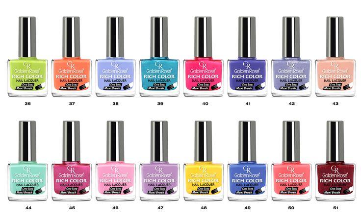 Próbowałyście już wszystkich kolorów Rich Color?