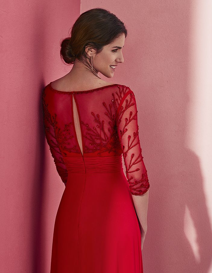Vestido Madrina MOD 1- 2018 – Avaguel – Alquiler de Chaqué en Madrid ... 74353482d3bb