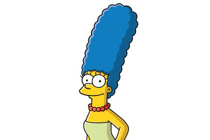 What Is A Uber >> Marge Simpson is rarely seen without her uber tall perfectly formed blue #beehive - we salute ...