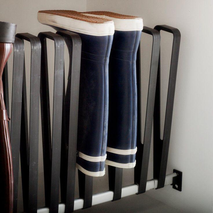 les 129 meilleures images concernant rangement chaussures bottes sur pinterest. Black Bedroom Furniture Sets. Home Design Ideas