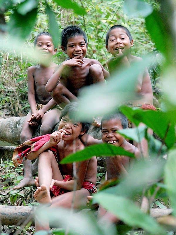 Happy Children of Sumatra