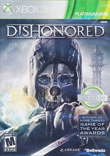 Dishonored XBOX 360 Game NIB Bethesda NIP new sealed Game of the Year