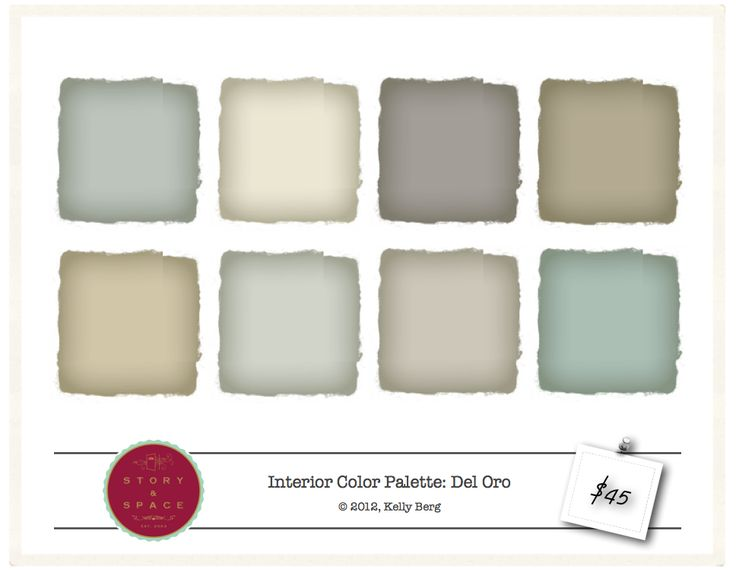 23 Best Color Palettes Images On Pinterest Interior