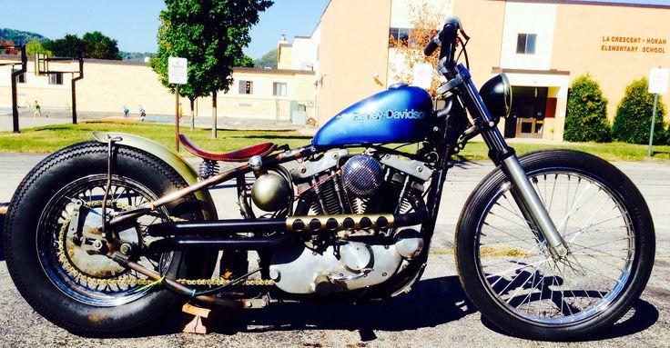 1973 Harley Davidson Xr 750 Motorcycle Cool Daredevil: My 1977 Ironhead Sportster Harley Davidson Bobber