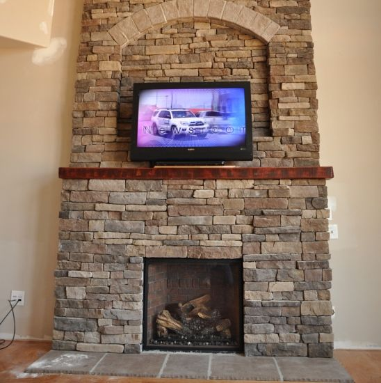 Bitter Root Mountain Ledge- Eldorado Stone stone on house ...