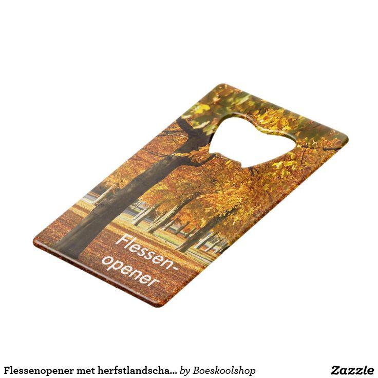 Flessenopener met herfstlandschap in Oldenzaal. Beschikbaar in diverse modellen met de mogelijkheid om de foto aan te passen. Tekst is verwijderbaar c.q. aanpasbaar qua lettertype, kleur, grootte en locatie!