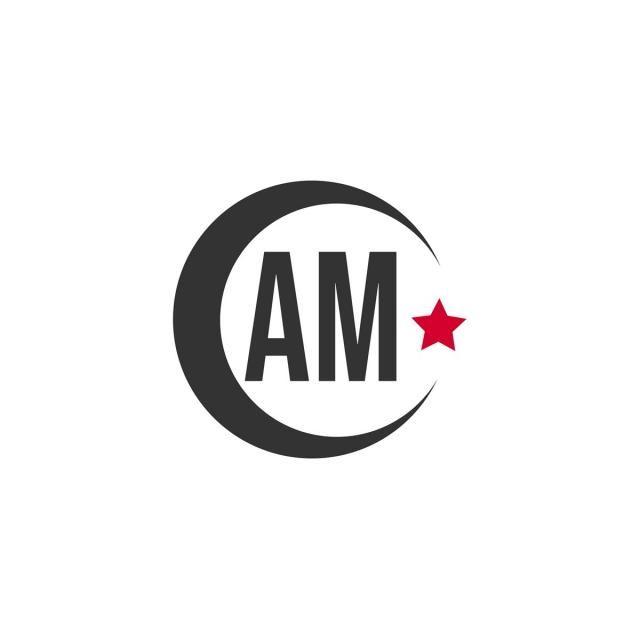 Letter Am Logo Design Logos Design Logos Lettering