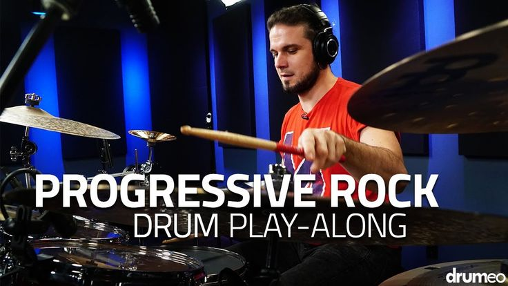 "Progressive Rock Drum Play-Along - ""Awaiting"" (Drumeo)"