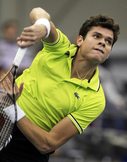 milos raonic has worked so hard and come so far, great story of dedication and pursuit.