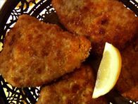 Get this all-star, easy-to-follow Parmesan-Crusted Pork Loin Cutlets recipe from Melissa d'Arabian