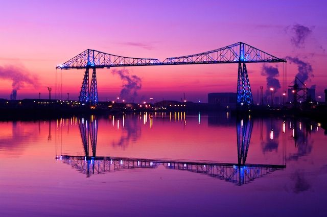 Transporter Bridge: Middlesbrough, England