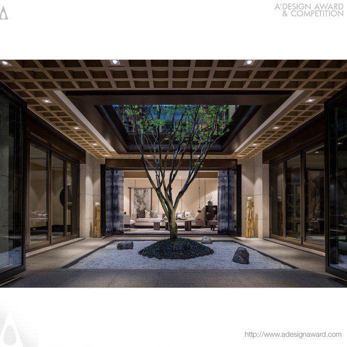 Jinke Jiuqu River Residential House Golden A Design Award Winner For Interior Space And Exhibition Design Design Interior Design Studio Architecture Design