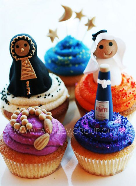Vimto and Muslims cupcakes :-)