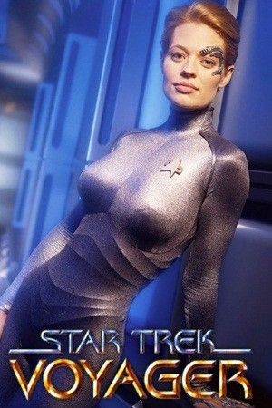 Star Trek: Voyager ... Seven of Nine - Jeri Ryan   Such a beautiful woman