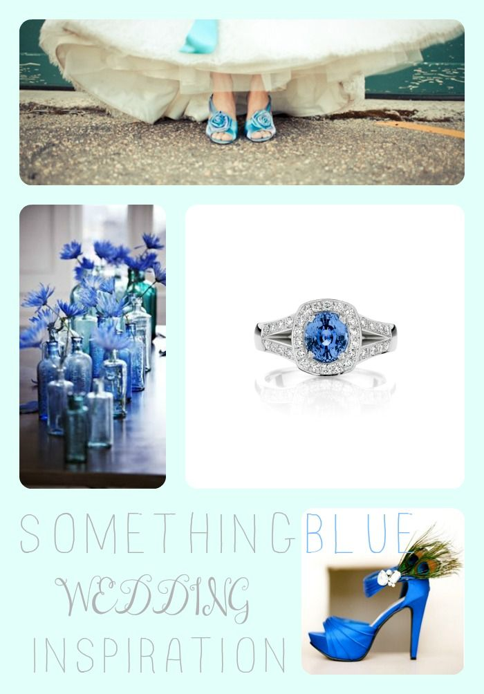 Something blue for your wedding day? Be inspired by the stunning sapphire blue!   www.larsenjewellery.com.au