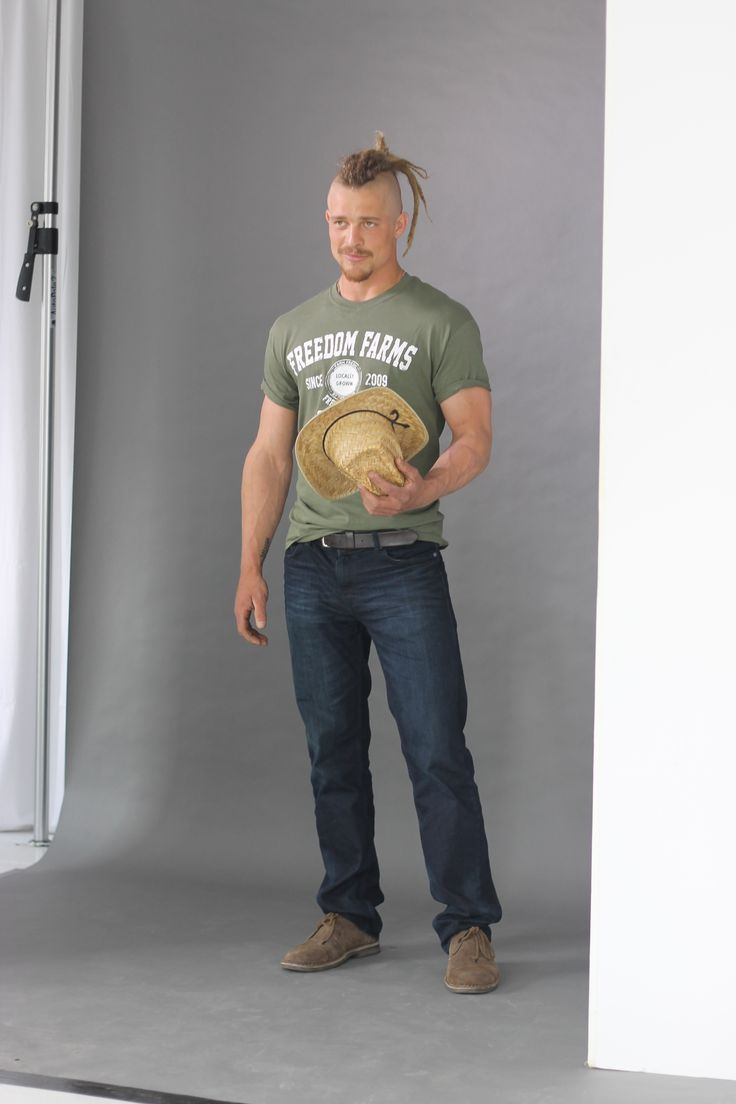 Pete King seducing the camera. #FarmKings >> http://www.greatamericancountry.com/shows/farm-kings/the-farm-kings-photo-gallery-pictures?soc=pinterest