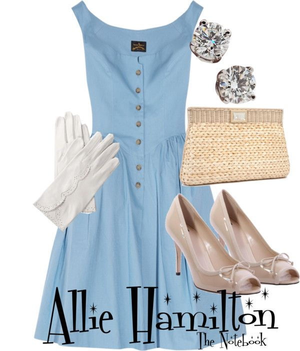 Inspired by character Allie Hamilton played by Rachel McAdams in the 2004 romantic drama The Notebook.