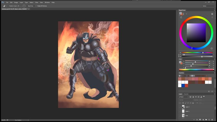 It's almost cooooloooreeeedd  ;)    #BatmanVSuperman #Comics #DCComics #MakingComics #ComicsTalk