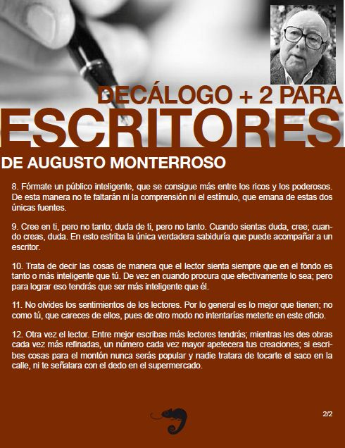de Augusto Monterroso (ParteI).