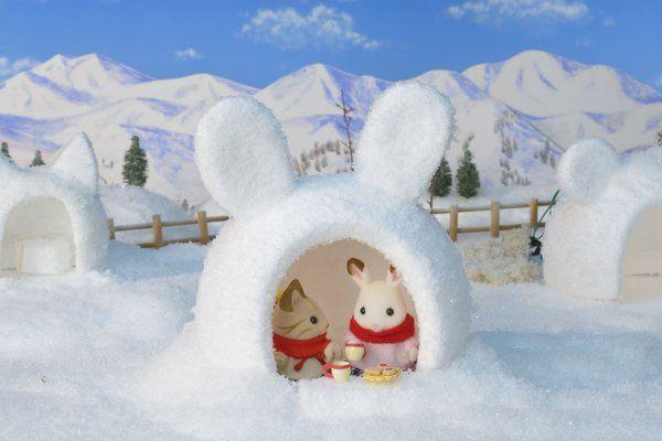 Bunny igloo                                                                                                                                                     More