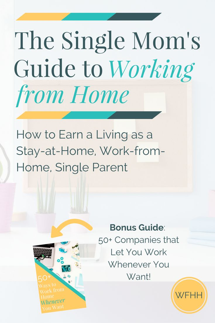 Save on daycare expenses, spend more time with your family and make ends meet -- The Single Mom's Guide to Working from Home and Ways to Earn Whenever You Want!