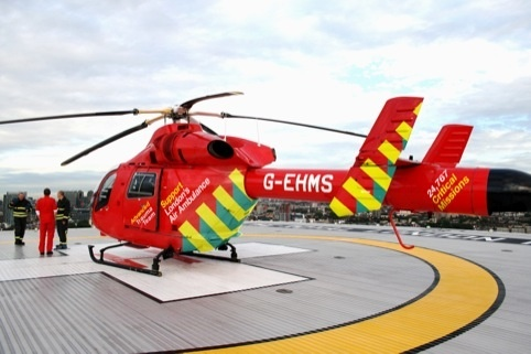 The London Air Ambulance - all UK air ambulances are paid for by charities. They need your support!