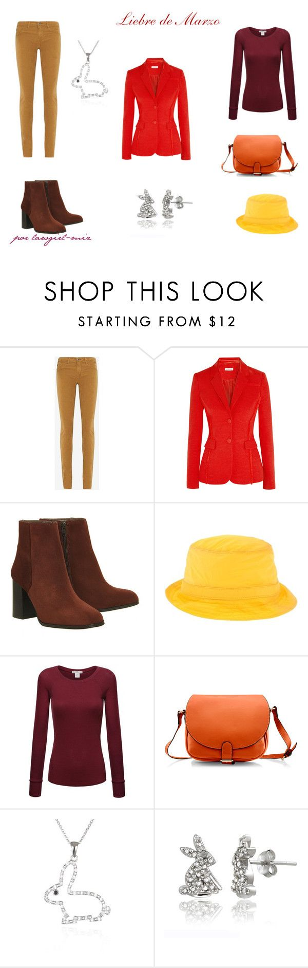 """""""Liebre de Marzo"""" by lawgirl-miz on Polyvore featuring AG Adriano Goldschmied, Altuzarra, Office, Dsquared2, Belk & Co. and DB Designs"""