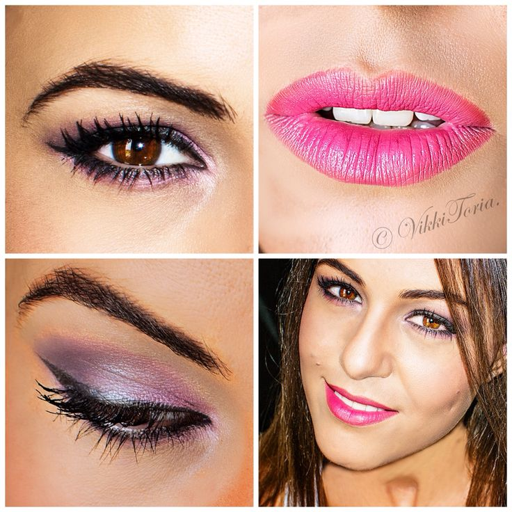 New #makeup look #Pinkismyobsession #Yardley #KaleidoscopeCosmetics #Eyestudio #Maybeline #Estee Lauder #Professional makeup #MAC #eyes #lips #artist #VikkiToria Instagram @VikkiToria_mua