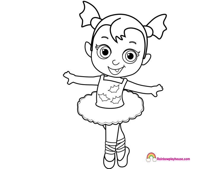 Dibujos Tsum Tsum Dibujos Para Colorear: Resultado De Imagen Para Vampirina Para Colorear