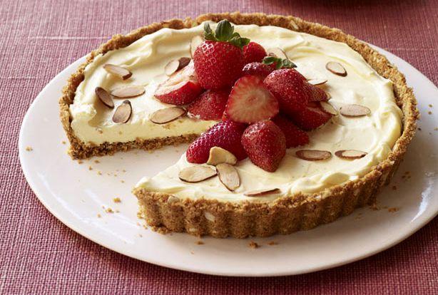 Τάρτα+φράουλας+με+υπέροχη+κρέμα