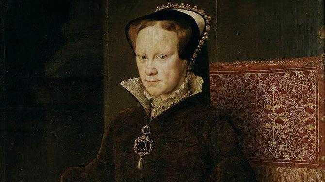 """Vandaag is het 500 jaar geleden dat Mary Tudor werd geboren, dochter van Hendrik VIII en later zelf koningin van Engeland. Een portret van de vrouw die de geschiedenis als """"Bloody Mary"""" is ingegaan."""