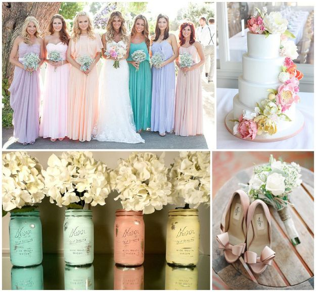 wedding ideas pastel colours 17 best images about wedding ideas on 28278