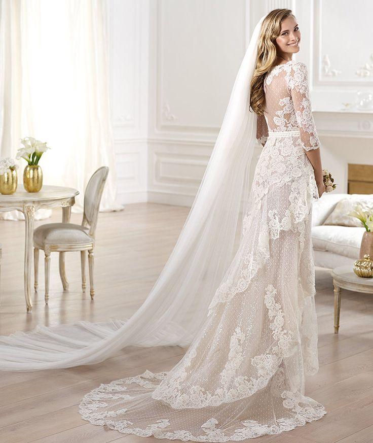 27 best PRONOVIAS - Wedding Dress images on Pinterest | Short ...